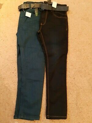 2 Pairs Of Boys Skinny Jeans By Next New With Tags Age 11 Years