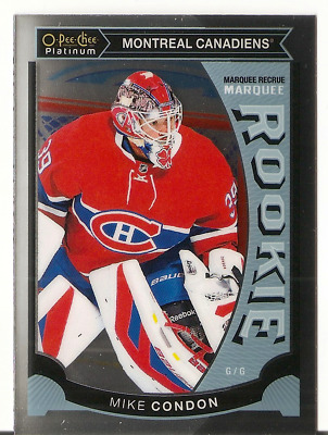 15/16 Opc Platinum Marquee Rookie Mike Condon # M32
