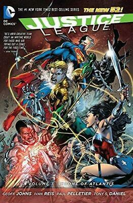 Justice League Volume 3: Throne of Atlantis TP (The New 52), Johns, Geoff, Good