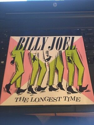 """Billy Joel ; The Longest Time / Christie Lee 7"""" 1984 38-04400 Picture Sleeve"""