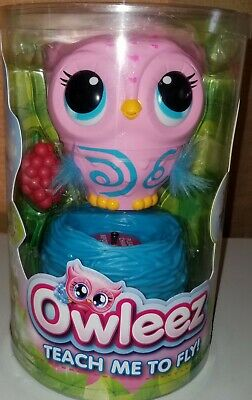 New owleez flying baby owl toy