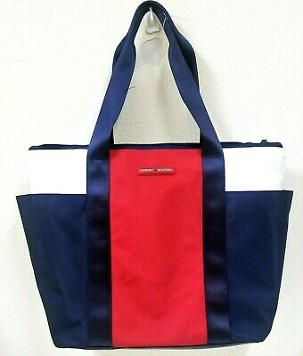 TOMMY HILFIGER Medium Work BagTasche Tommy Navy Tommy Red