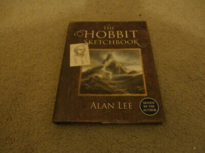 Alan Lee: The Hobbit Sketchbook: Signed Uk 1St Edition Hardcover 1/1