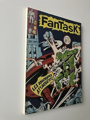 FANTASK N° 2 LUG EO TTBE 1969 E0 voir PHOTOS No MARVEL STRANGE