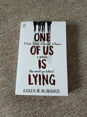 One Of Us Is Lying by Karen McManus (Paperback, 2017) - new unwanted gift
