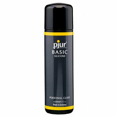 Pjur Basic Silicone Personal Glide 250ml - Adult Soulful Massages Long Lasting