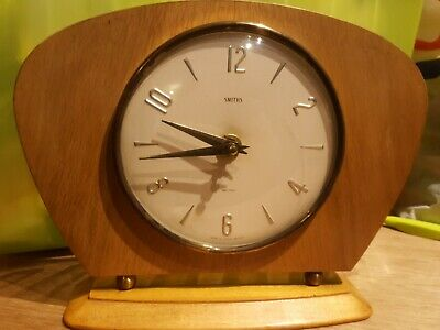 Smiths Sectric Mantle Clock Retro Vinatage Battery. Not Working.