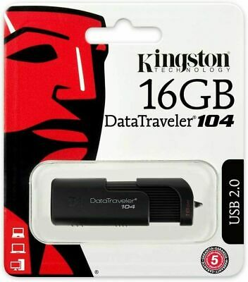 Kingston 16GB 3.0 DataTraveler100 G3 USB Flash Drive Stick Pen Memory Drive 3.1