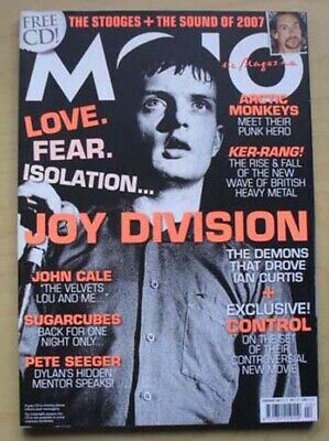 Joy Division Mojo #159 Magazine Feb 2007 Ian Curtis Cover With More Inside Uk