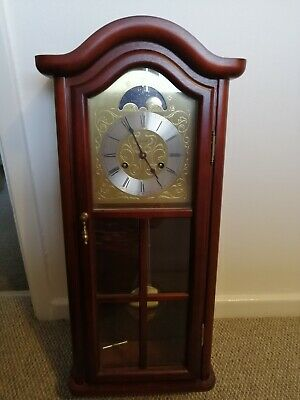 Hermle Wall Clock.Westminster Striking. Clock Key Pendulum.Full working order.
