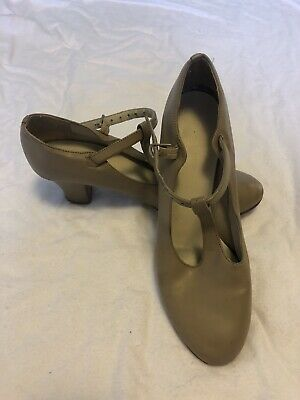 Boy/'s Mens Black  Character Oxford Jazz Theater ShowChoir leather sole theatric