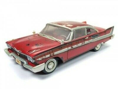 Autoworld Dirty Christine 1958 Plymouth Fury mit Licht 1:18 AWSS119 Modellauto