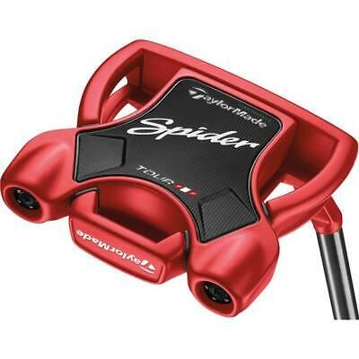New Taylormade Spider Tour T-Line Putter - Choose Length and Color Red or Black