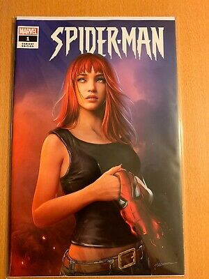Spider-Man #1 Shannon Maer Variant Ltd Edition 3000 Marvel Comics