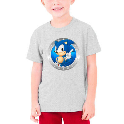 Funny Son-Ic Knuckles Kids T-Shirts Short Sleeve Tees Summer Tops for Youth//Boys//Girls