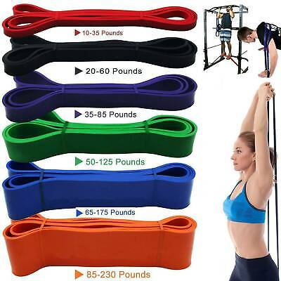 Resistance Bands Tube Exercise Elastic Band Fitness Equipment Yoga Loop Bands ~~