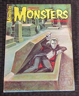 1967 FAMOUS MONSTERS Horror Magazine #43 FN+ 6.5 Christopher Lee Dracula
