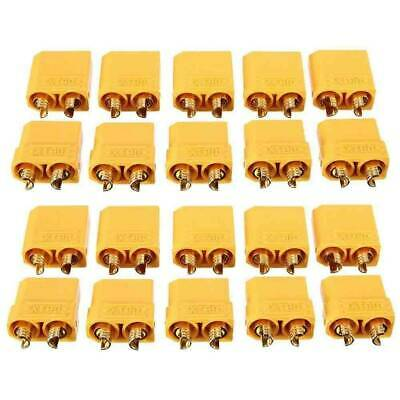 5 Pairs/10Pcs XT60 Male+ Female Bullet Connectors Plugs for RC Lipo Battery
