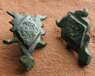 Two lining of the Viking belt of Kievan Rus 10-11 AD