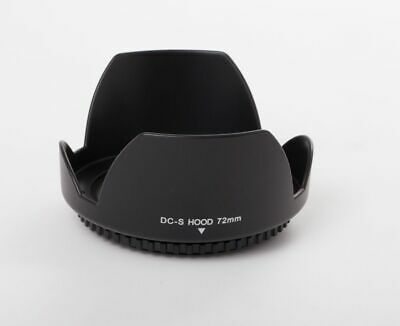 Lens Hood Universal 72mm black for Sigma 17-70mm F2.8-4 DC Macro OS HSM