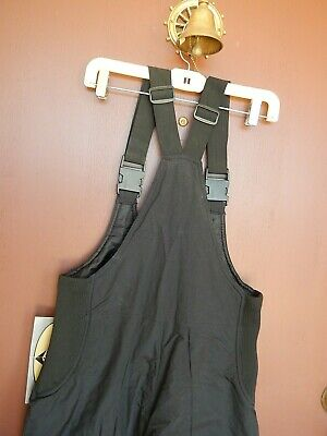 NEW Mens Black Bibs Insulated Ski Snow Pants Overalls Sports Essentials Size S