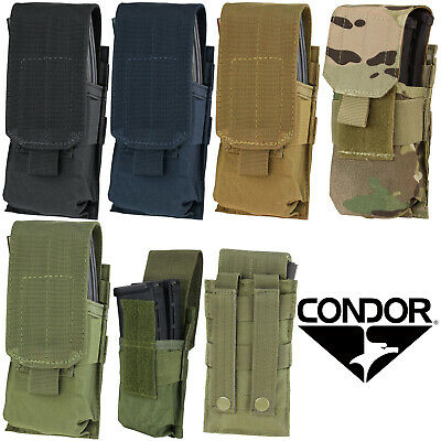Condor MA5 Tactical MOLLE PALS Modular Single Hunting Rifle Magazine Mag Pouch