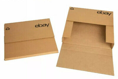 "LOT (15) Ebay Variable Depth LP Record Album Mailer Shipping Boxes 12.5"" x 12.5"""