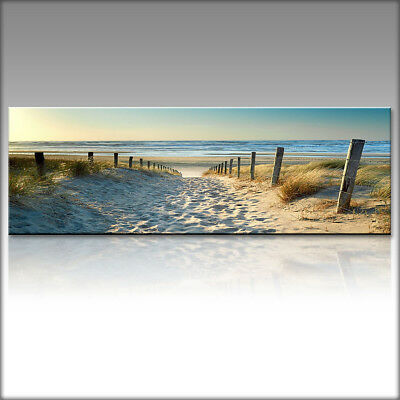 Canvas Oil Prints Modern Home Decor Ocean Beach Wall Art Picture Unframed US .