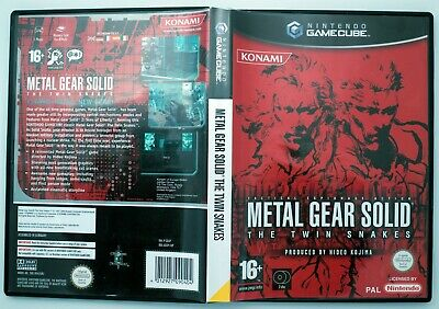 Metal Gear Solid: The Twin Snakes (GameCube Game PAL)  VGC Aust Seller