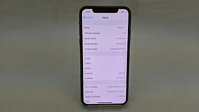 Apple iPhone A2097, 64GB, Wi-Fi, Unlocked, Space Grey, Working/No Face ID