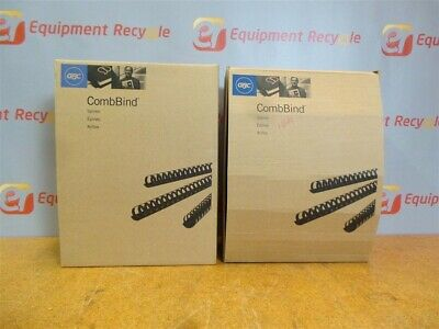 "GBC CombBinds 1 1/2"" Binding Spines Comb 4200010 New"