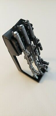Star Wars Clone Trooper  Rifle Rack +3 Dc-15 Rifles For 3.75 Inch Figures