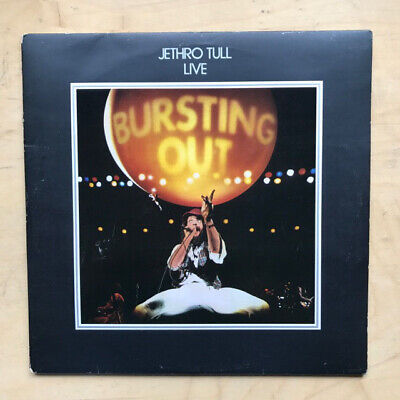 Jethro Tull Live - Bursting Out Lp 1978 Double Album With Inner Sleeves (Edge We