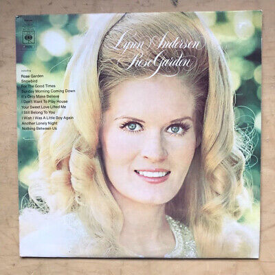 Lynn Anderson Rose Garden Lp 1971 - Nice Copy With Small Sticker Tear On Cover -