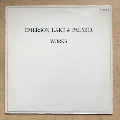 EMERSON, LAKE AND PALMER WORKS - VOLUME 2 LP 1977 - light use on record, some ed