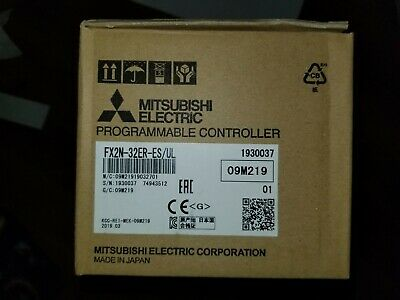 New In Box Mitsubishi Programmable Controller Fx2N-32Er-Es/Ul
