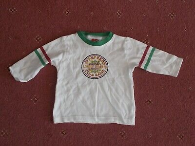 The Beatles SGT Peppers lonely hearts club band long sleeve top 18 Months