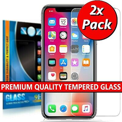 Tempered Glass Screen Protector For iPhone 11 11 Pro Max iPhone X XS Max XR SE 2