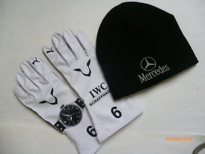 Lewis Hamilton gloves with free bean F1  fan / kart