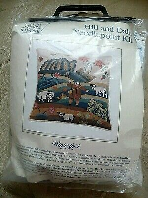 Its Polite to Point Needlepoint Kit SHEPHERD Hill and Dale Winterthur Adaptation