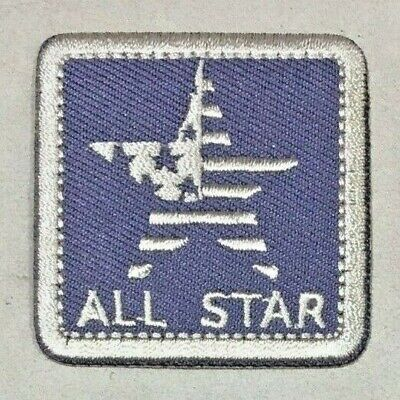 Parche Termoadhesivo | All Star | Bordado | 44x44 mm | Patch