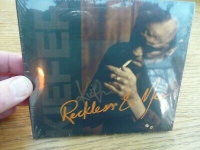 Kiefer Sutherland Reckless & Me Cd Fully Autographed 2019