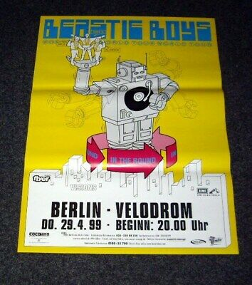 Beastie Boys German Tour Poster Berlin The