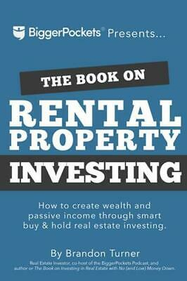 The Book on Rental Property Investing by Brandon Turner (author)