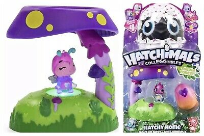 Hatchimals Colleggtibles Hatchy Play Set Fabula Forest Light Up Exclusive Figure