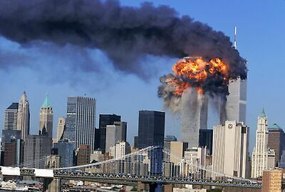 Twin Towers Attack 9 11 8x10 Picture Celebrity Print