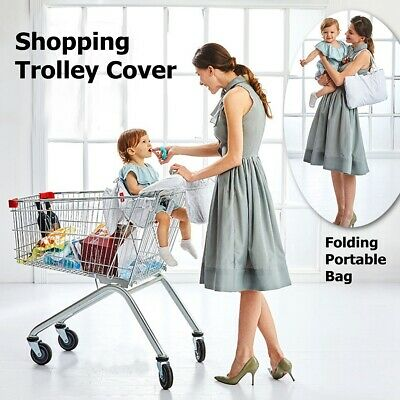 47'' X 32'' Baby Kids Infant Shopping Trolley Cart Cover Seat High Chair Cover