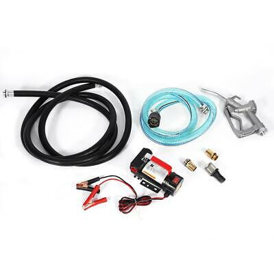 Auto Car 12V Electric Diesel Fuel Fluid Extractor Oil Transfer Pump Accessories