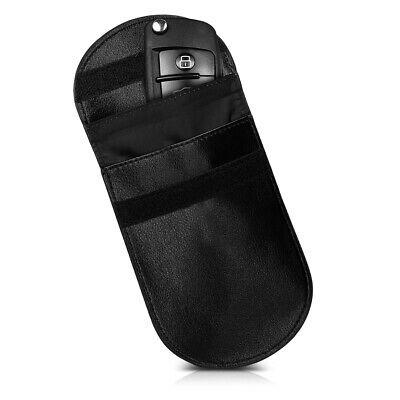 Car Key Pouch with RFID Blocker for Keyless Car Keys Compatible with All Models