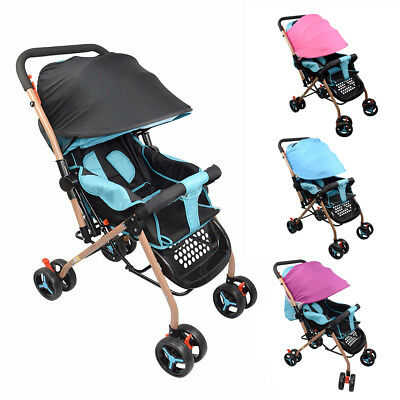 Baby Stroller Sun Visor Carriage Shade Canopy Cover Prams Car Seat Buggy Kid Cap